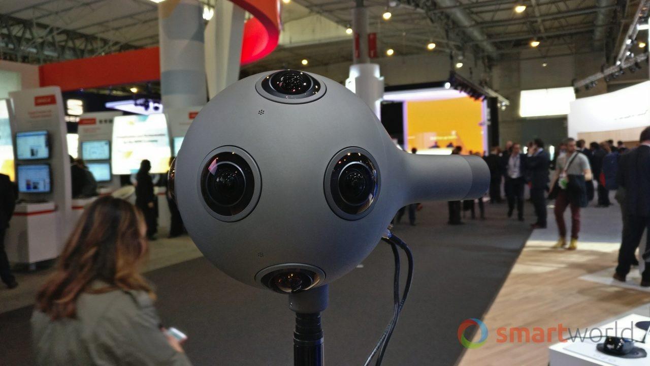 Nokia OZO, la nostra anteprima della videocamera VR professionale (video)