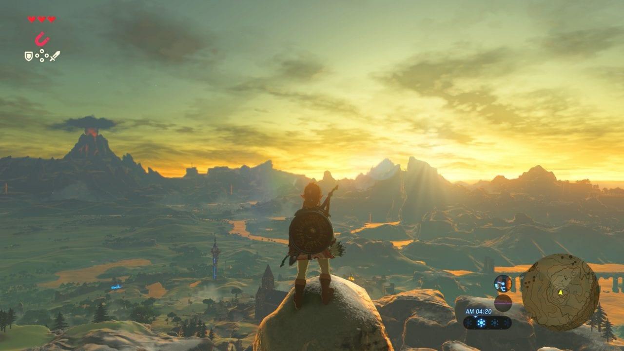 Nuovi e suggestivi screenshot di The Legend of Zelda: Breath of the Wild, e voi ci giocherete?