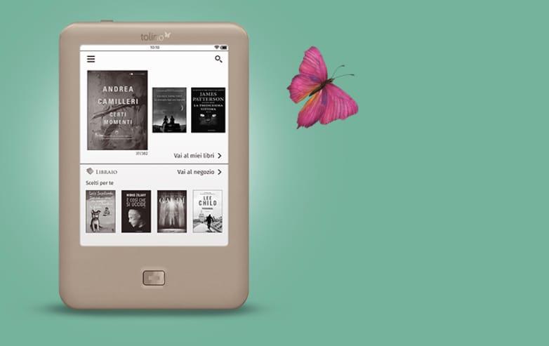 Tolino sfida Kindle con Page, un ebook reader da 80€ (foto)