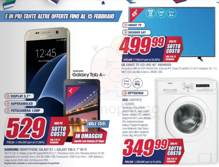 Volantini offerte lavatrici cheap offerta volantino for Volantino acqua e sapone toscana