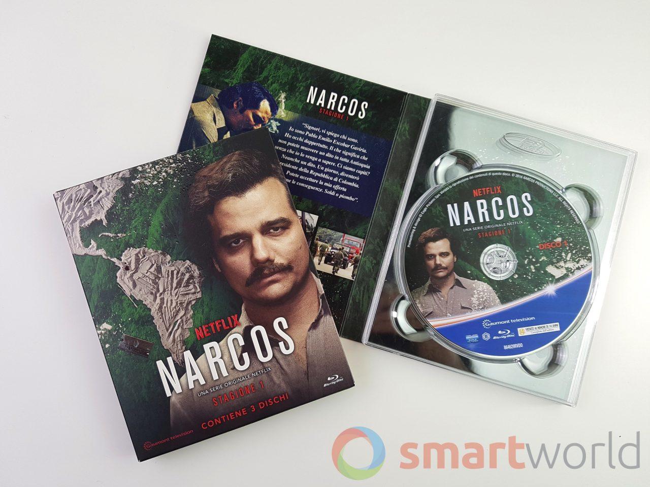 Narcos Stagione 1 Blu-ray: la serie TV Netflix in formato fisico, con qualche gradito extra! (recensione)