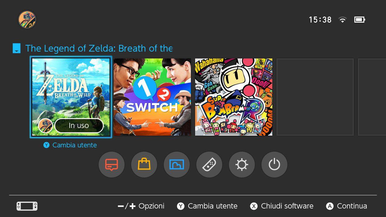 recensione-nintendo-switch-interfaccia