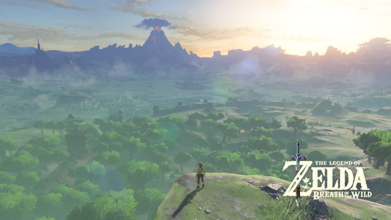 Recensione The Legend of Zelda: Breath of the Wild - Hyrule si presenta sin da subito nella sua grandezza. In realtà si tratta solo di un minimo scorcio di quanto offerto dal gioco.