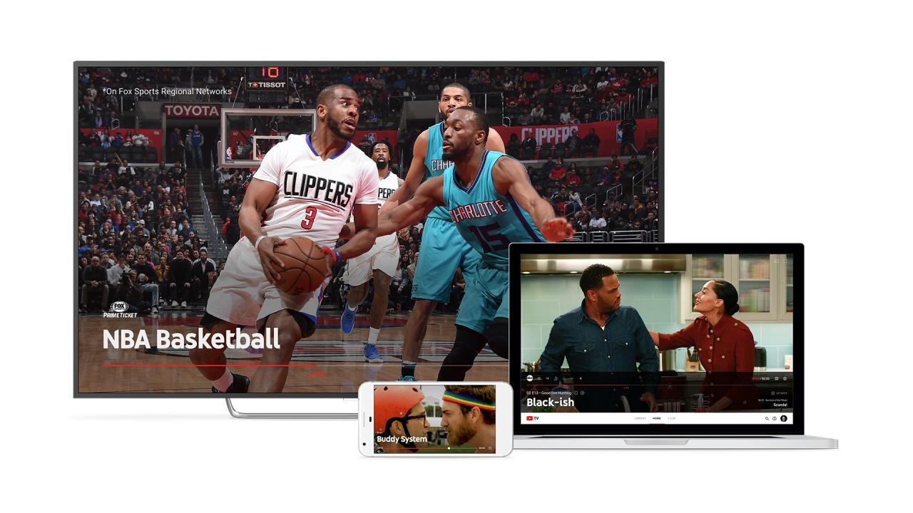 L'app di YouTube TV arriva su Android TV, Xbox One e non solo: presto anche su smart TV e Apple TV (foto)