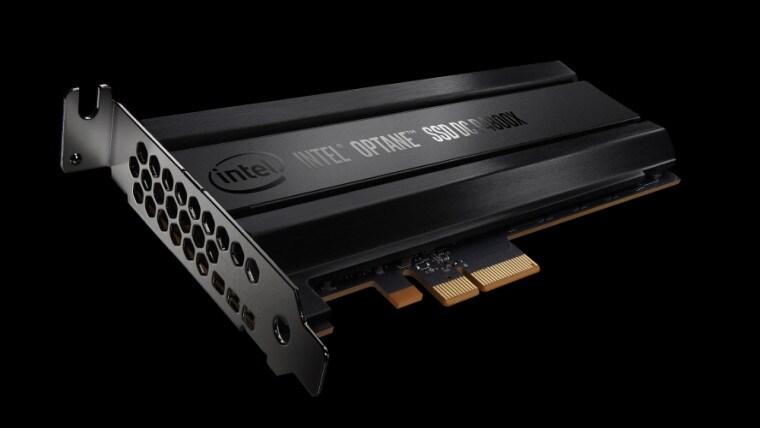 Intel Optane: ecco gli SSD 3D XPoint per le intelligenze artificiali