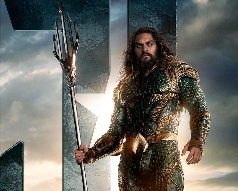 L'Aquaman del nuovo Justice League si mostra in nuove immagini, più spettacolare che mai (video)