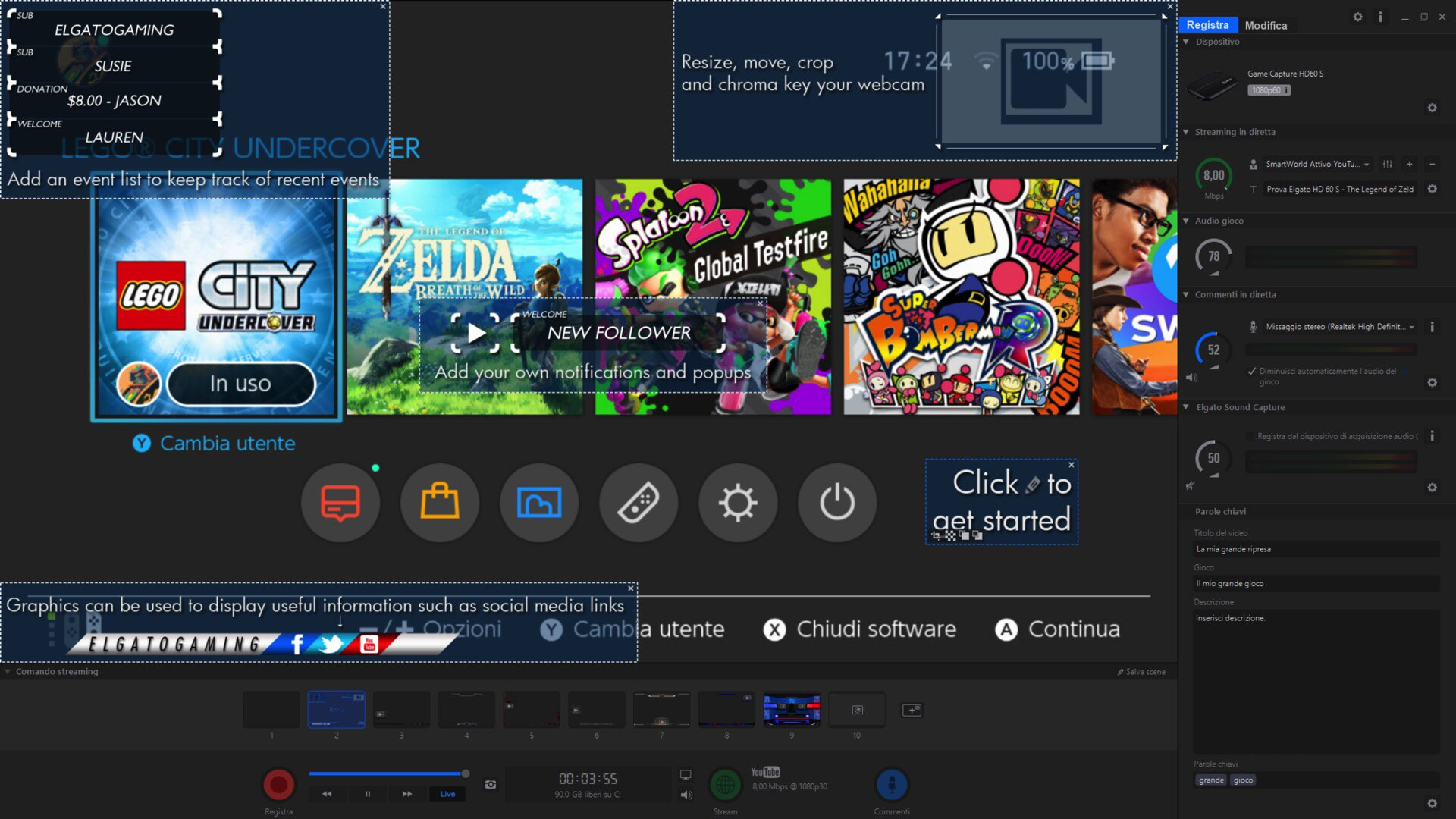 Elgato HD60 S Software Game Capture – 1