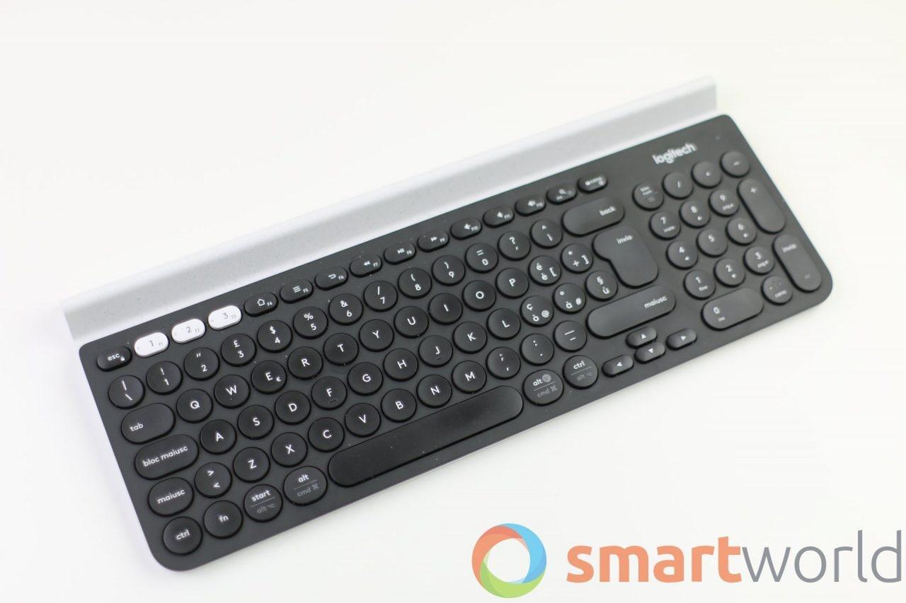 Offerta lampo per Logitech K780, tastiera wireless completa e in italiano!