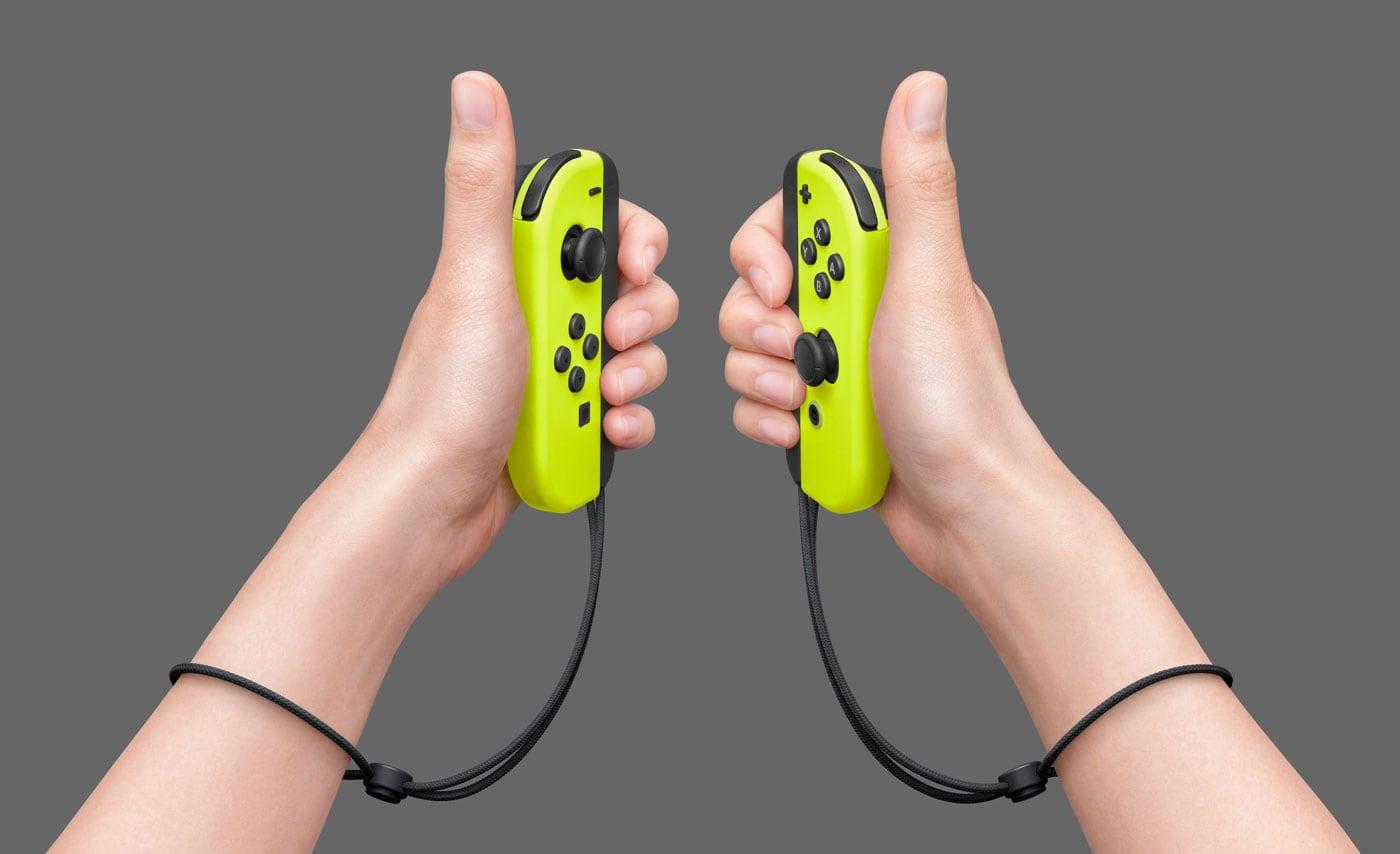 Nintendo Switch Joy-Con Gialli 2