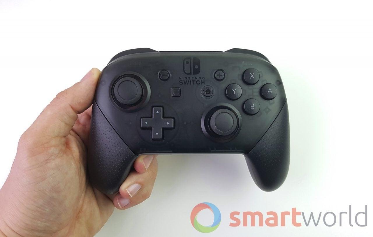 Il Pro Controller di Nintendo Switch torna in sconto a 54€ su Amazon