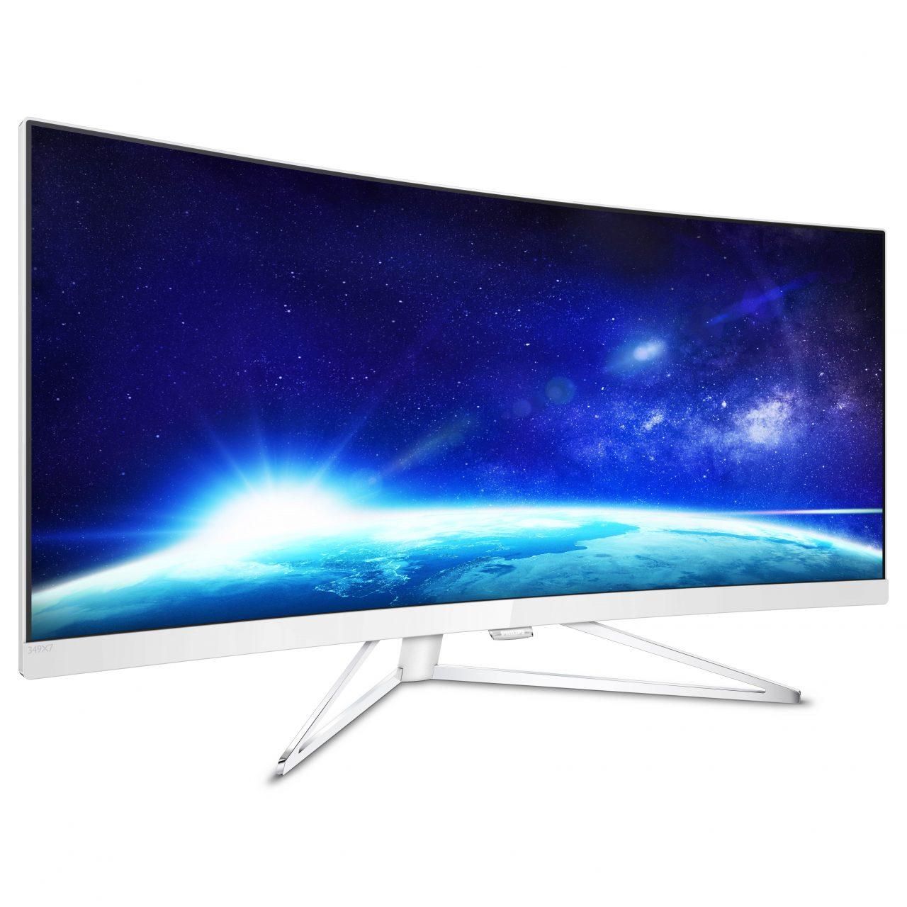 """Fate largo (sulla scrivania), ecco il monitor Philips UltraWide QHD da 34"""" (foto)"""
