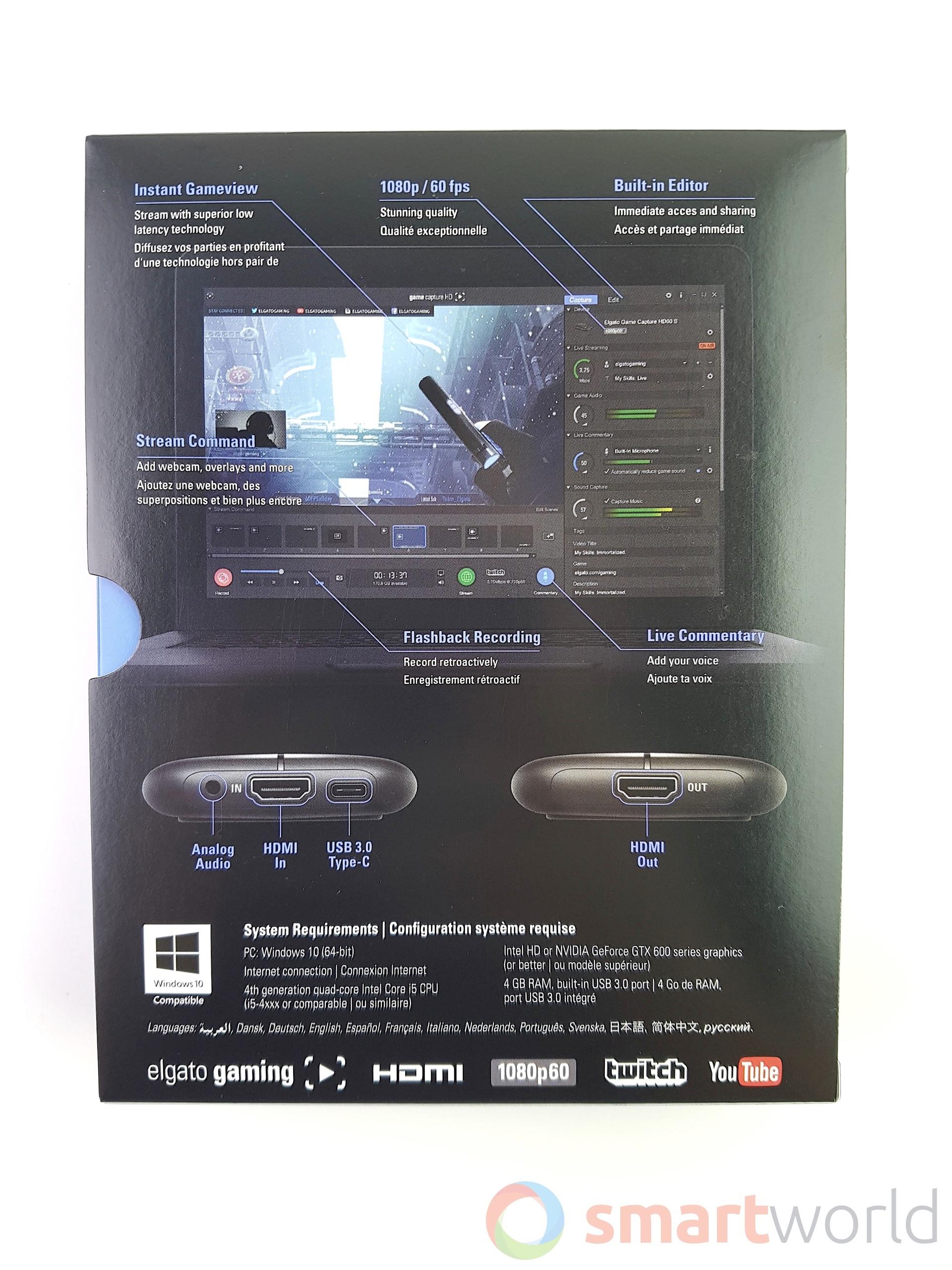 Recensione Elgato HD60 S – 2