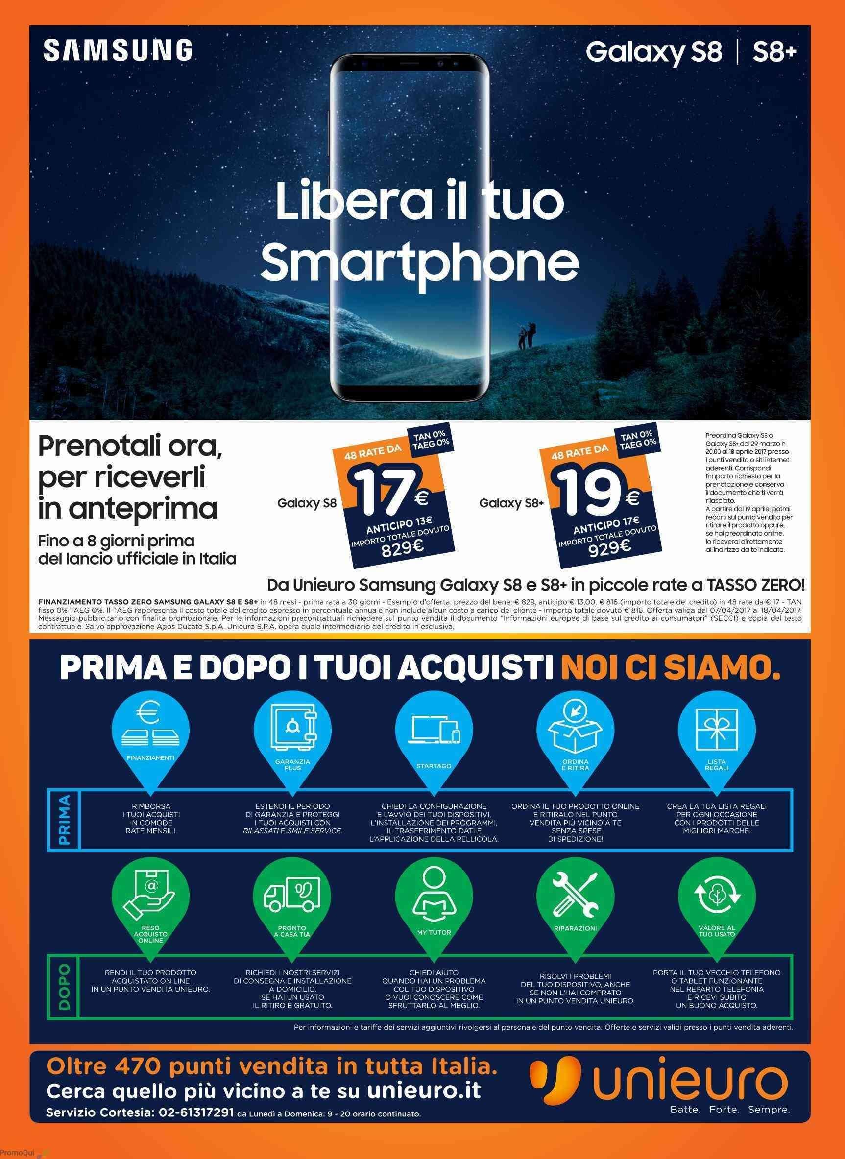 Volantino Unieuro 7 aprile 2017 (1)