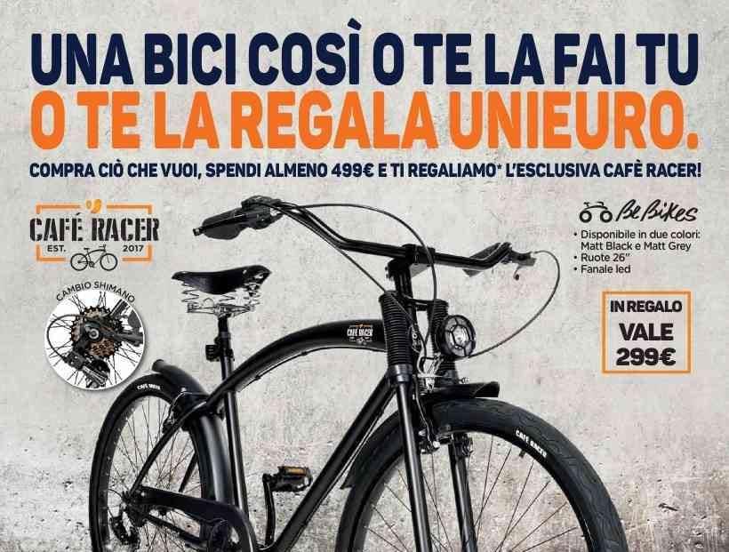volantino unieuro 19 aprile 3 maggio bicicletta in
