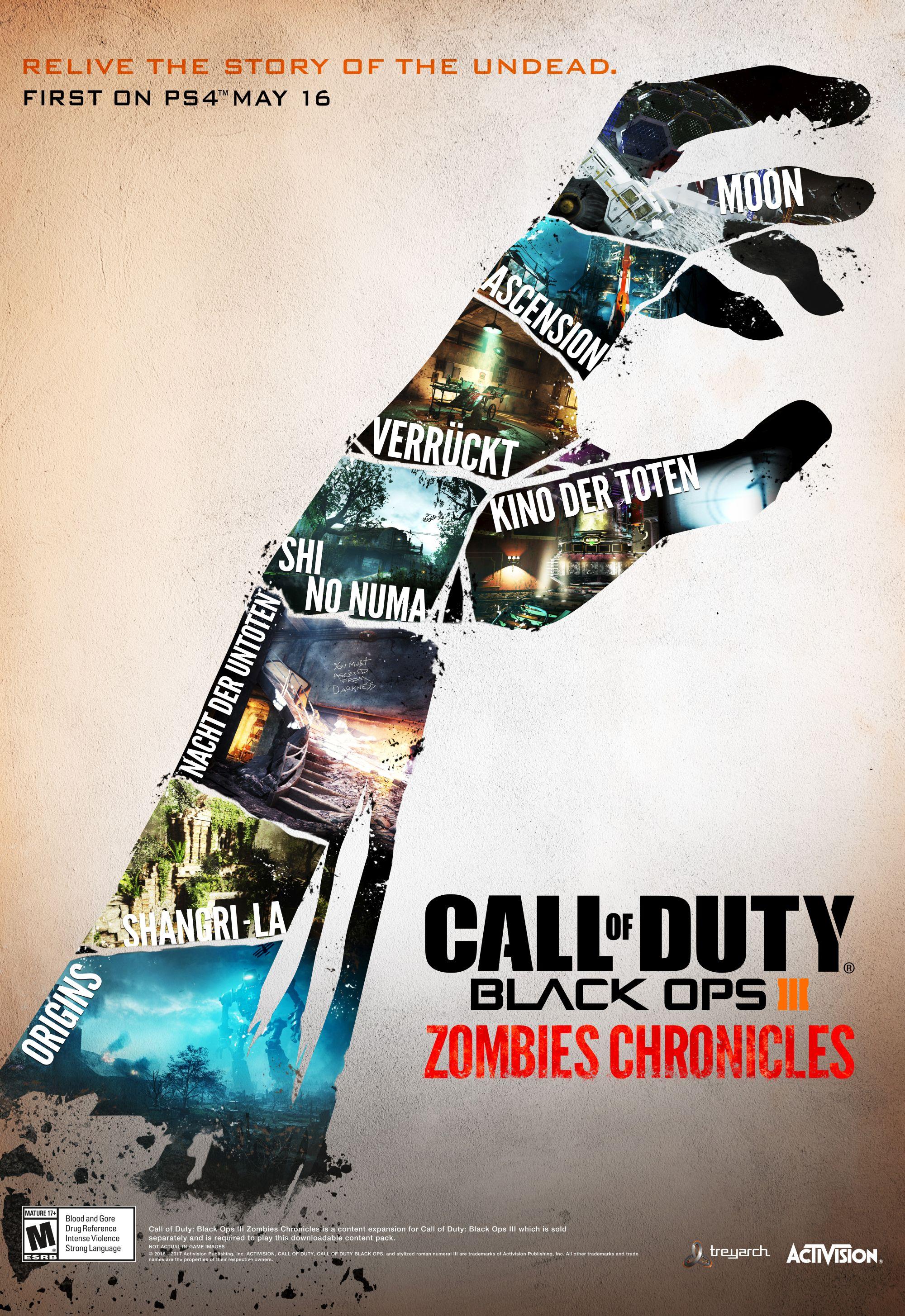 Black Ops III Zombie Chronicles