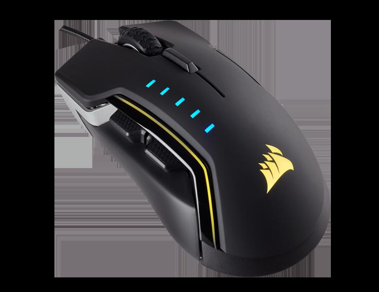 Corsair presenta il mouse da gaming Glaive RGB: personalizzazione, LED e supporti intercambiabili (foto)