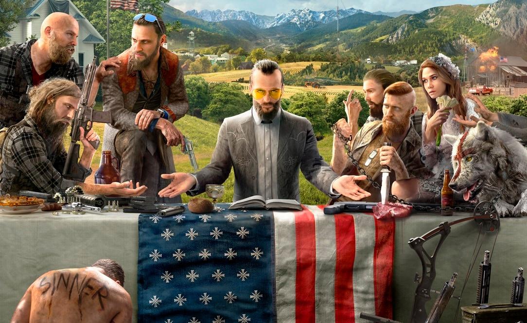 Far Cry 5 si mostra nel suo trailer di lancio (aggiornato: disponibile!)