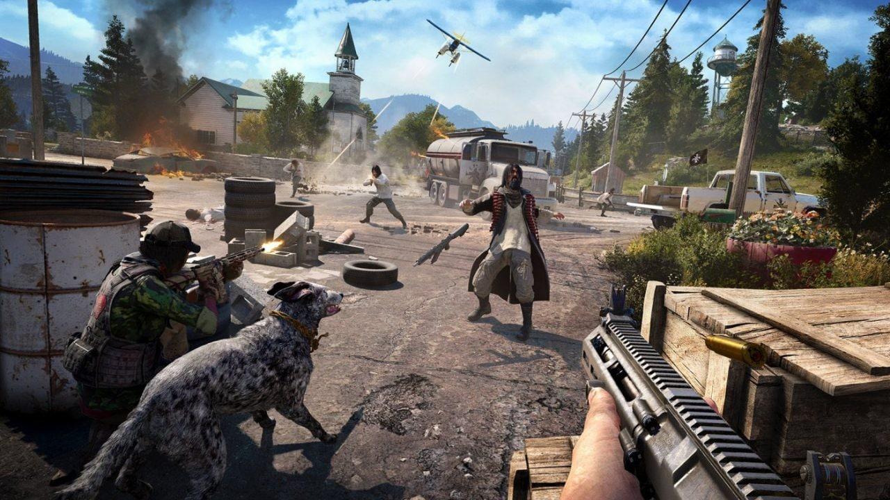 Far Cry 5 è sempre più cafone nel nuovo video gameplay mostrato da Ubisoft all'E3