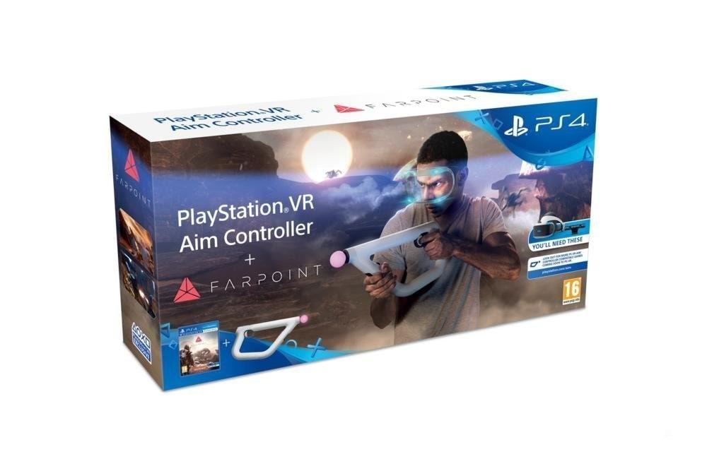 Farpoint e PSVR Aim Controller disponibili da oggi: un gioco che rivoluzionerà il concetto di FPS?