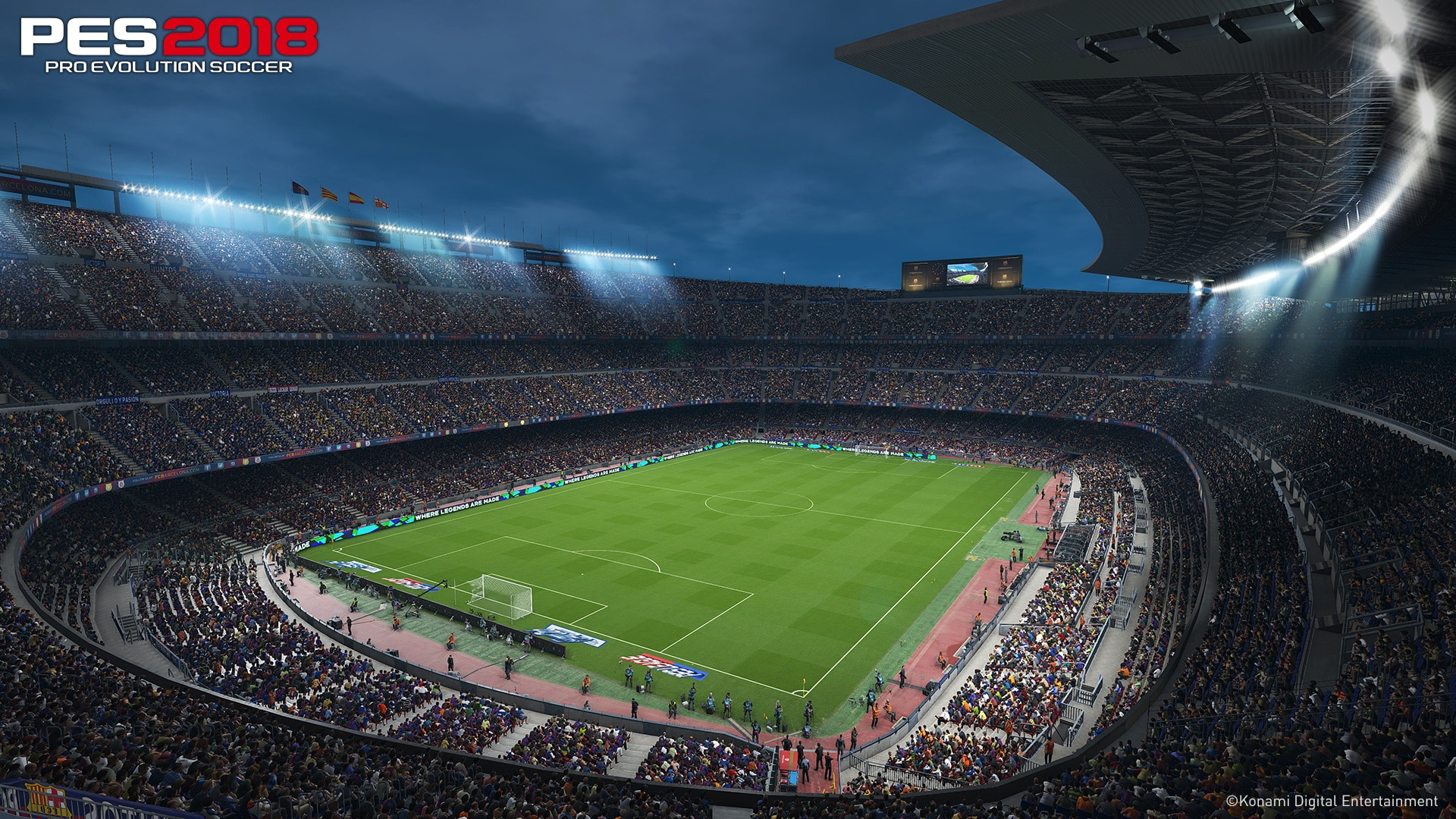 PES 2018 Screenshot – 1