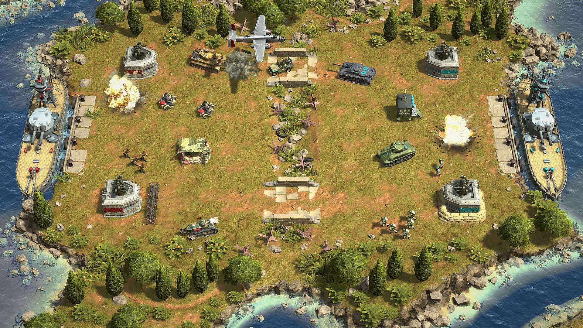 Recensione Battle Islands Commanders Screen – 1