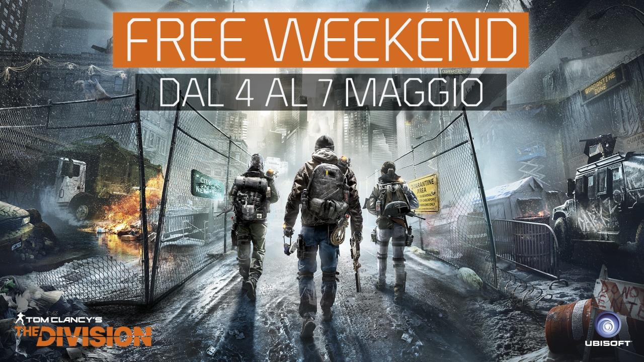 Ubisoft offre un weekend di prova gratuita per The Division