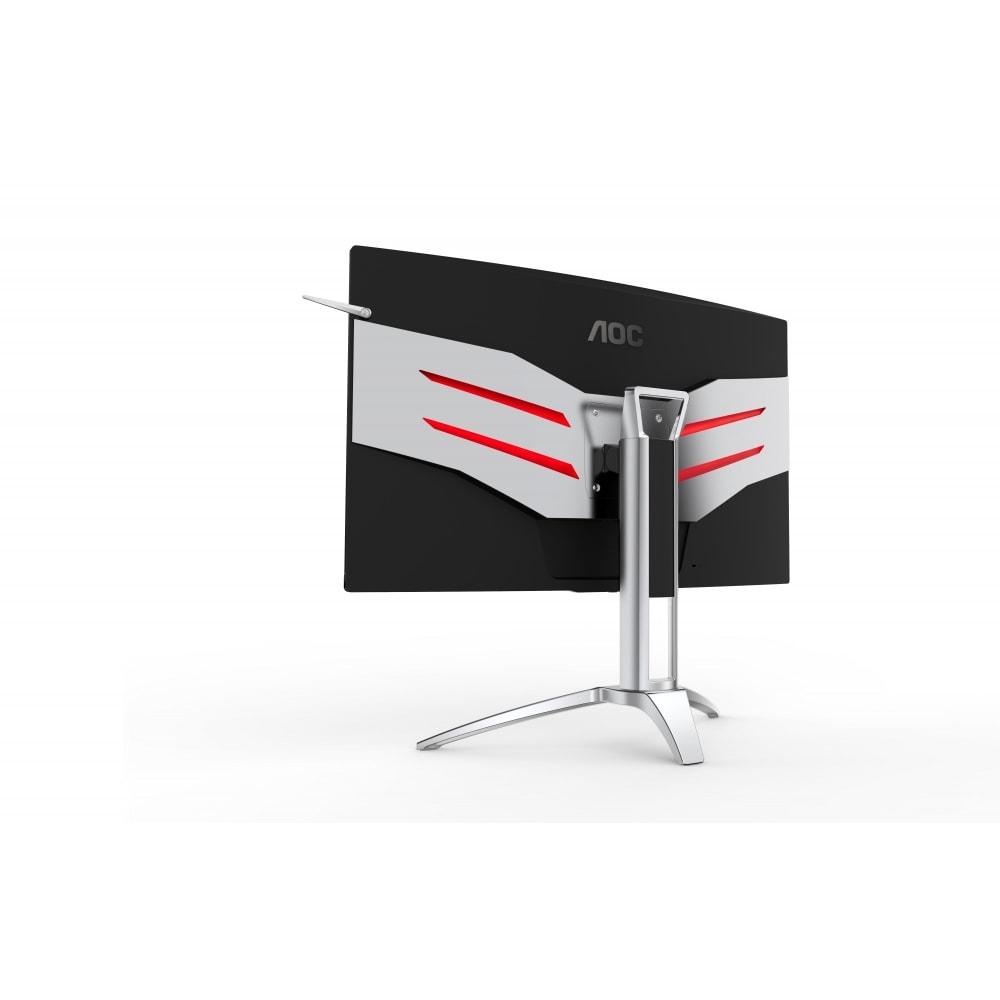 I nuovi monitor di AOC sono curvi, prestanti e zarri al punto giusto (foto)