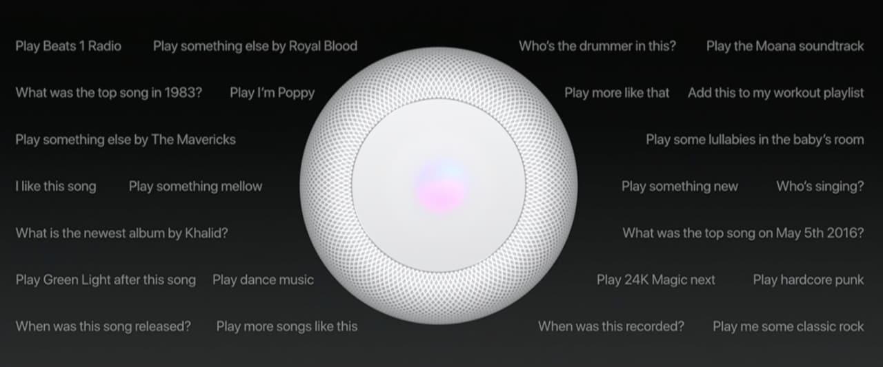 Apple homepod ufficiale lo speaker con siri che vuole for Domande da porre a un costruttore domestico personalizzato