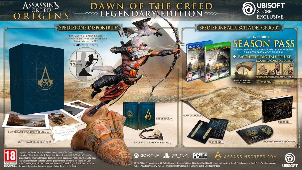 Guardate quanto sono belle (e care) queste edizioni di Far Cry 5 e Assassin's Creed Origins