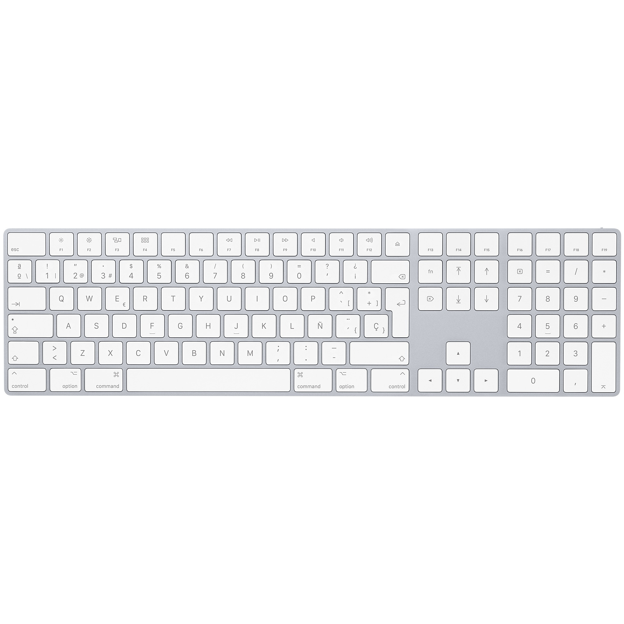 Magic Keyboard con tastierino numerico (2)