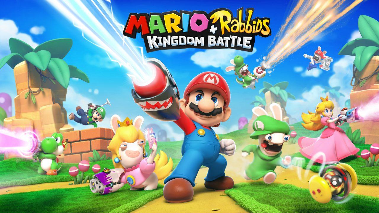 Mario + Rabbids Kingdom Battle disponibile da oggi per Nintendo Switch!