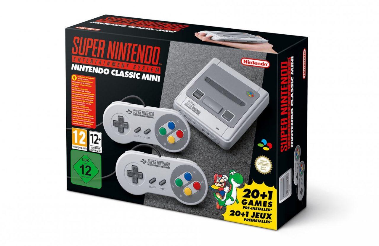 Nintendo Classic Mini SNES in pre-ordine a 79,99€ su Amazon Italia (aggiornato)