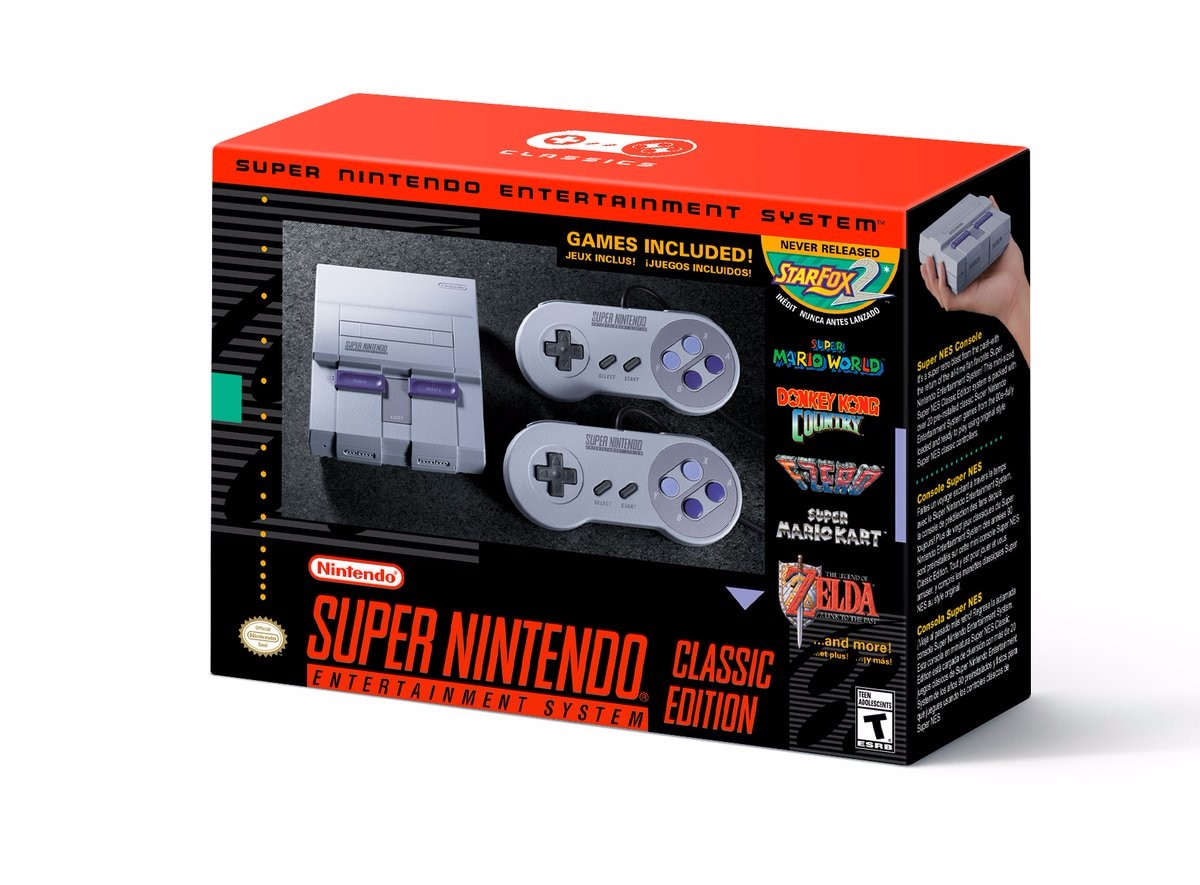 Nintendo Classic Mini SNES USA – 1
