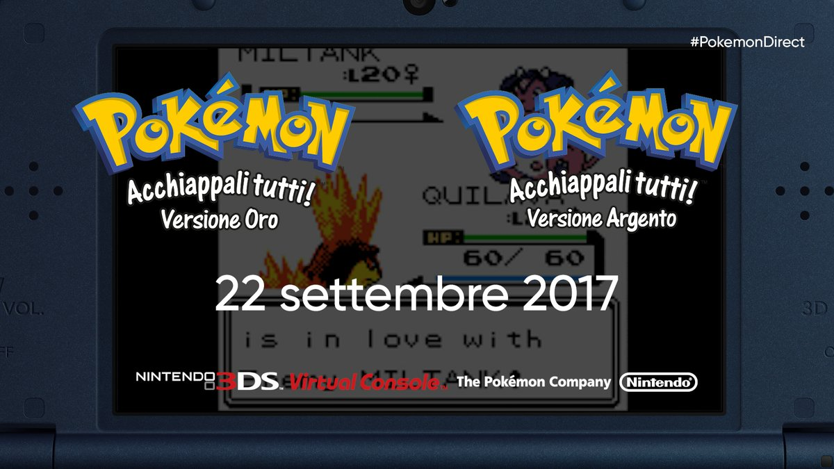 Nostalgia a palate: Pokémon Oro e Argento in arrivo su Nintendo 3DS