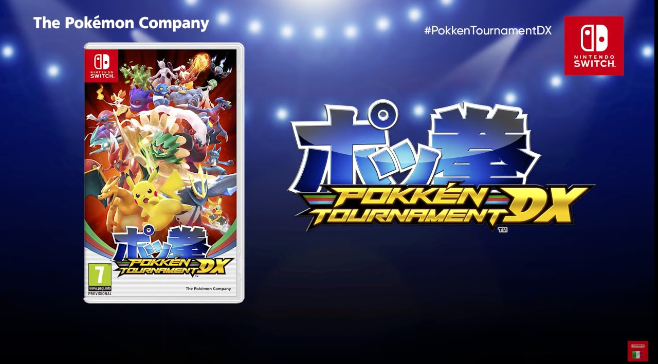 Nintendo annuncia Pokkén Tournament DX per Nintendo Switch (foto e video)