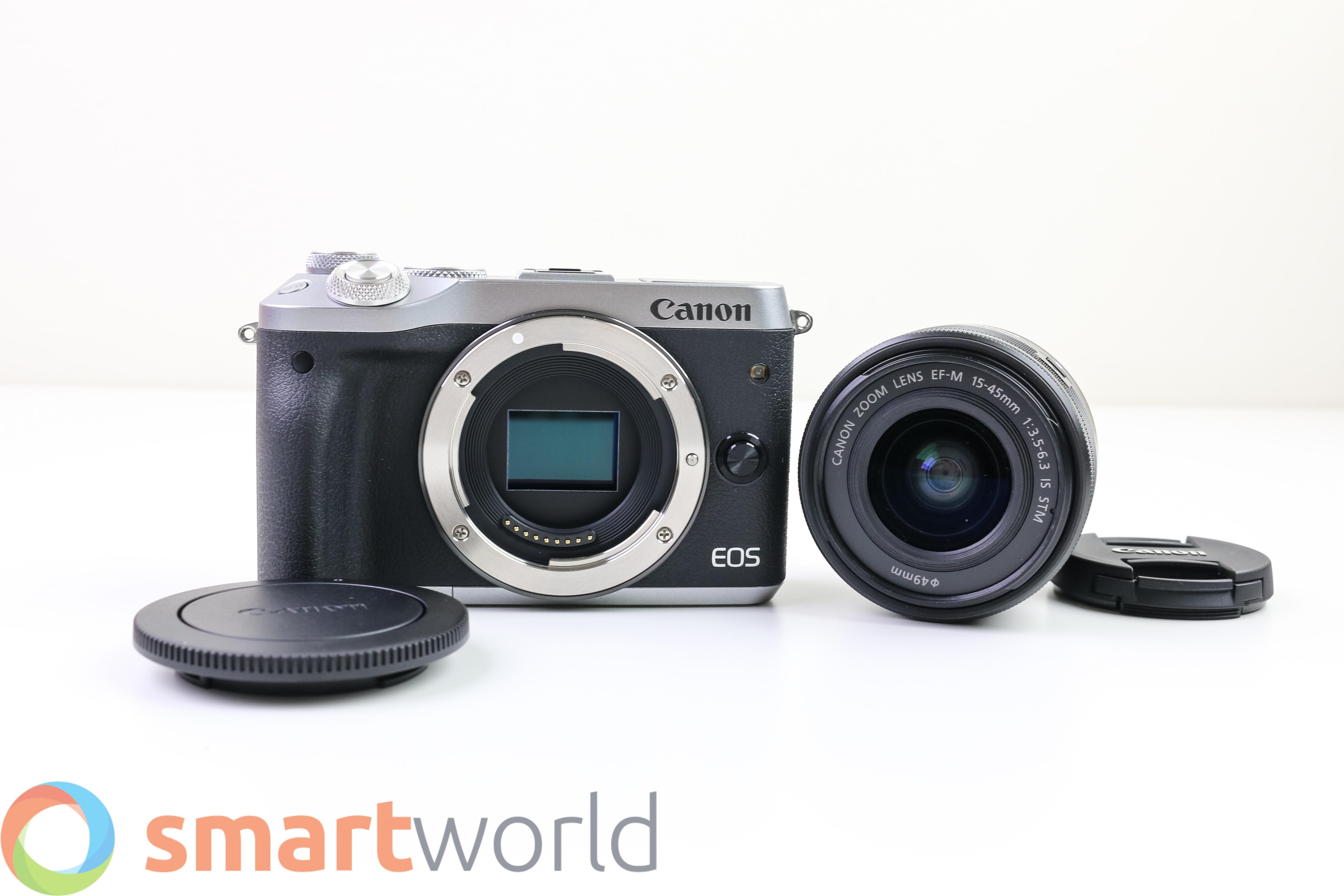 Recensione Canon EOS M6-3