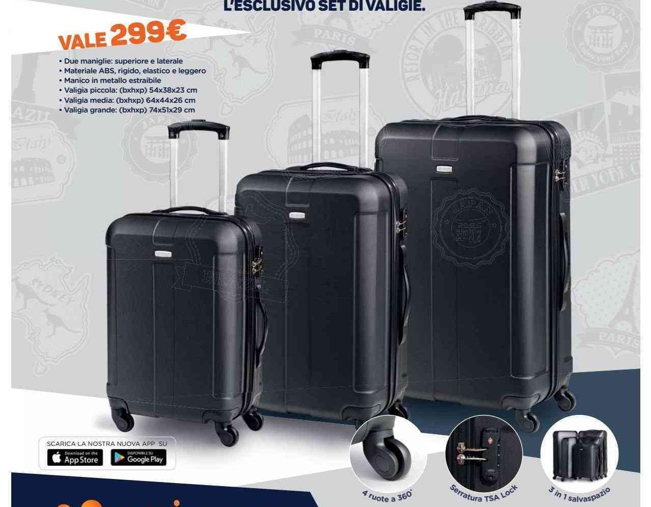 Volantino unieuro 15 30 giugno valigie in regalo e sconti for Regalo mobile tv