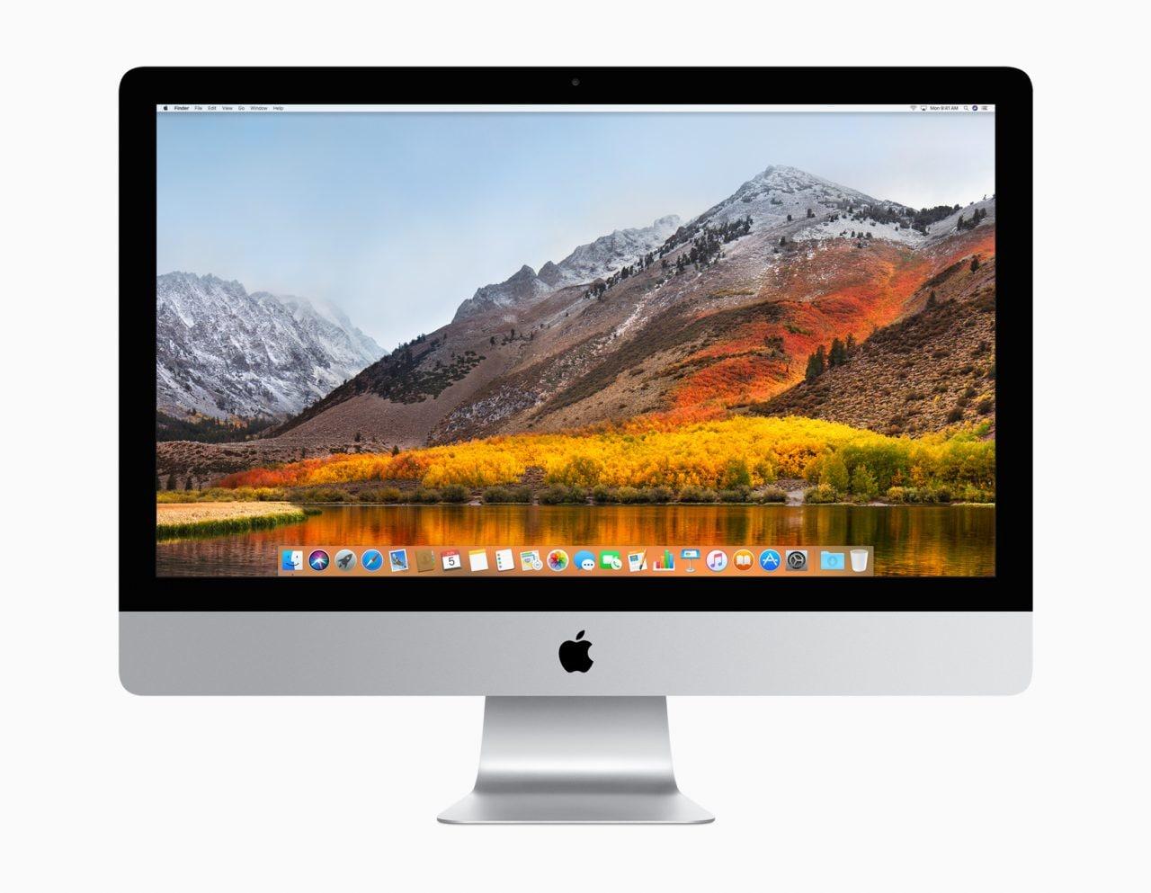 macOS 10.13.5: Messagges arriva su iCloud, più soliti miglioramenti di rito