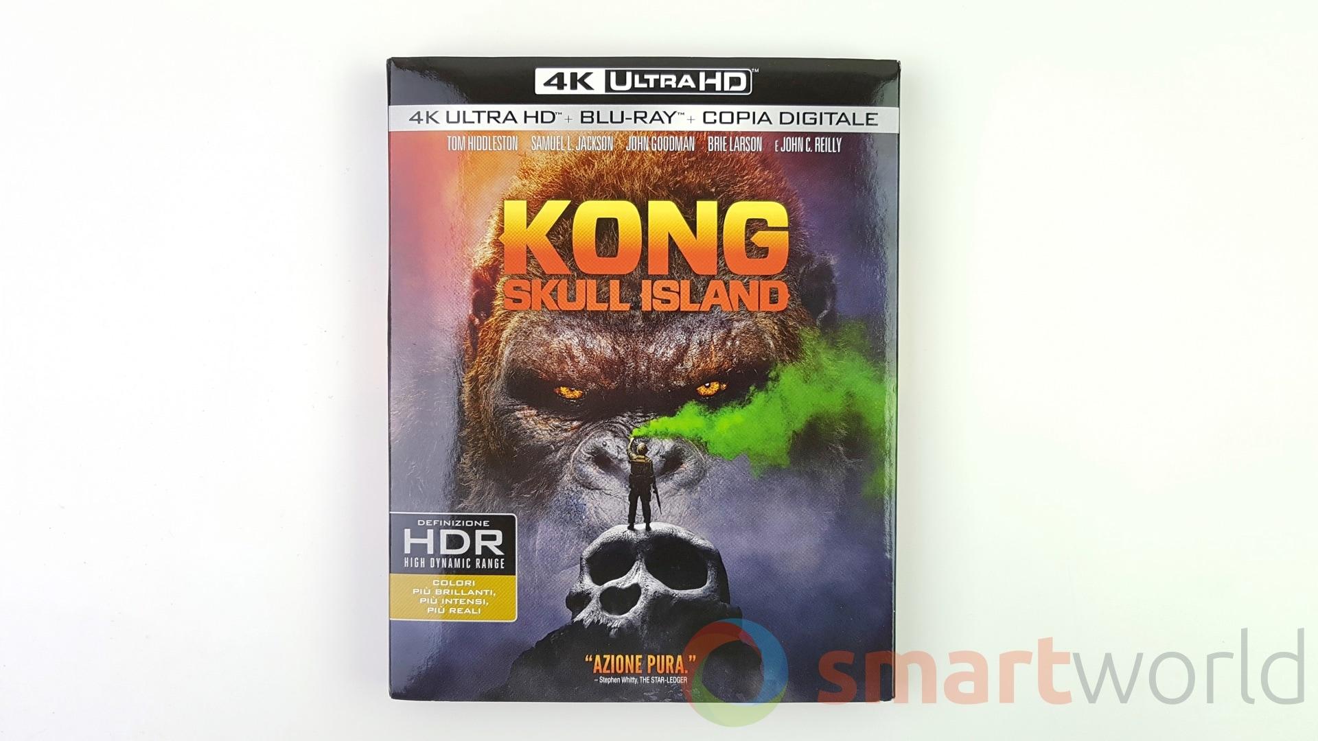 Kong Skull Island Recensione Blu-ray 4K – 1