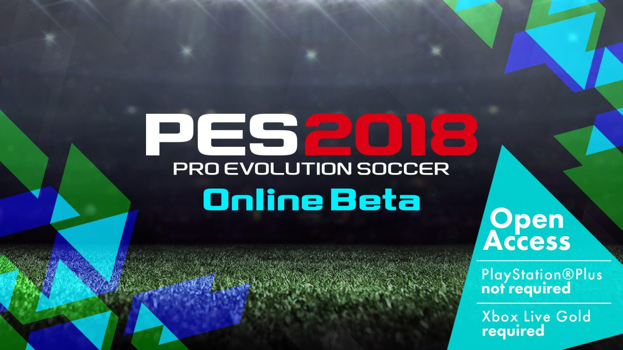 La beta apera di PES 2018 è disponibile da oggi su PS4 e Xbox One!