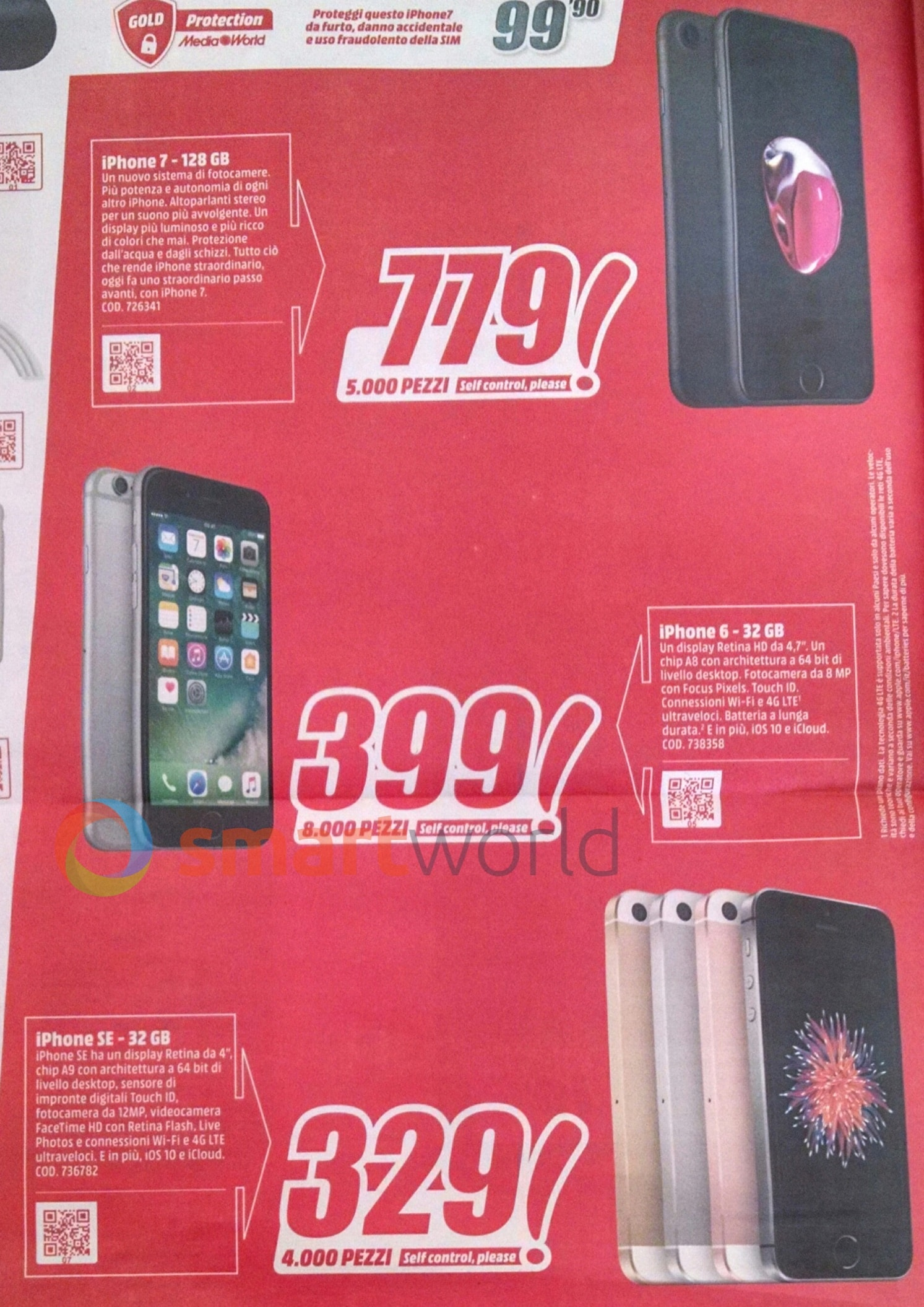 Volantino Mediaworld 6-16 luglio 2017 Smartphone – 3 copy