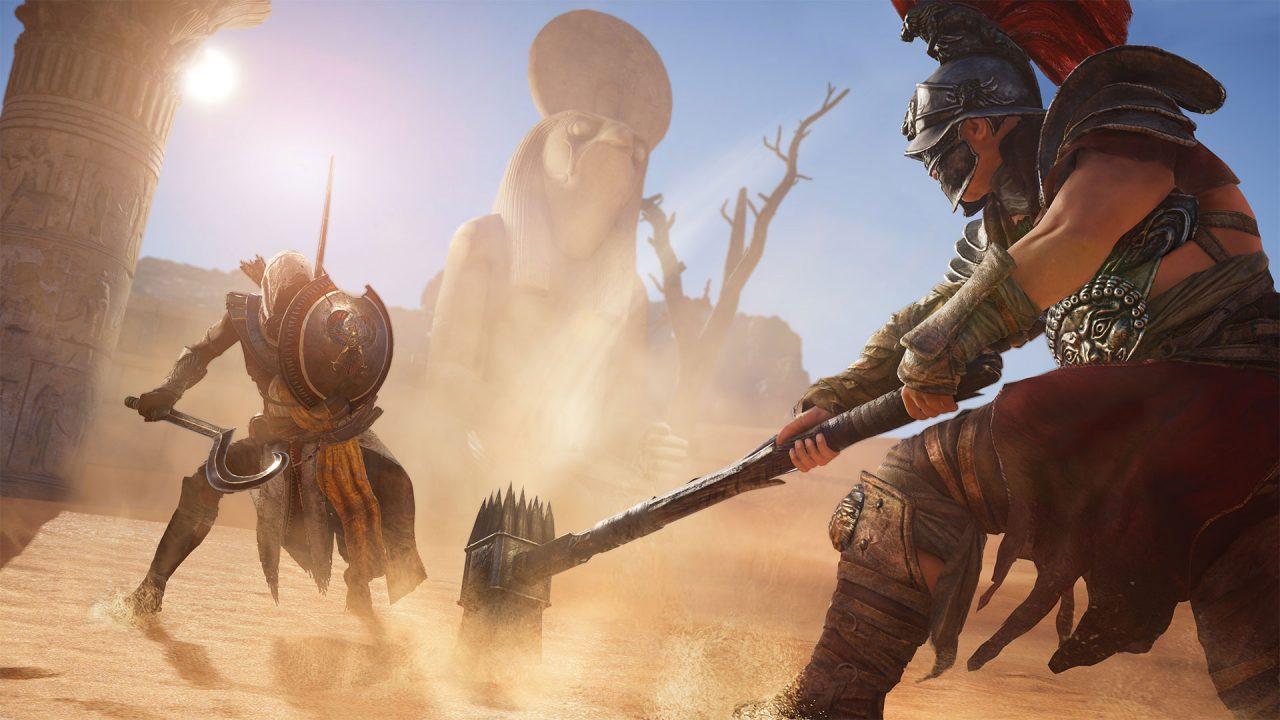 Assassin's Creed Origins si mostra in uno spettacolare trailer in CGI (video)