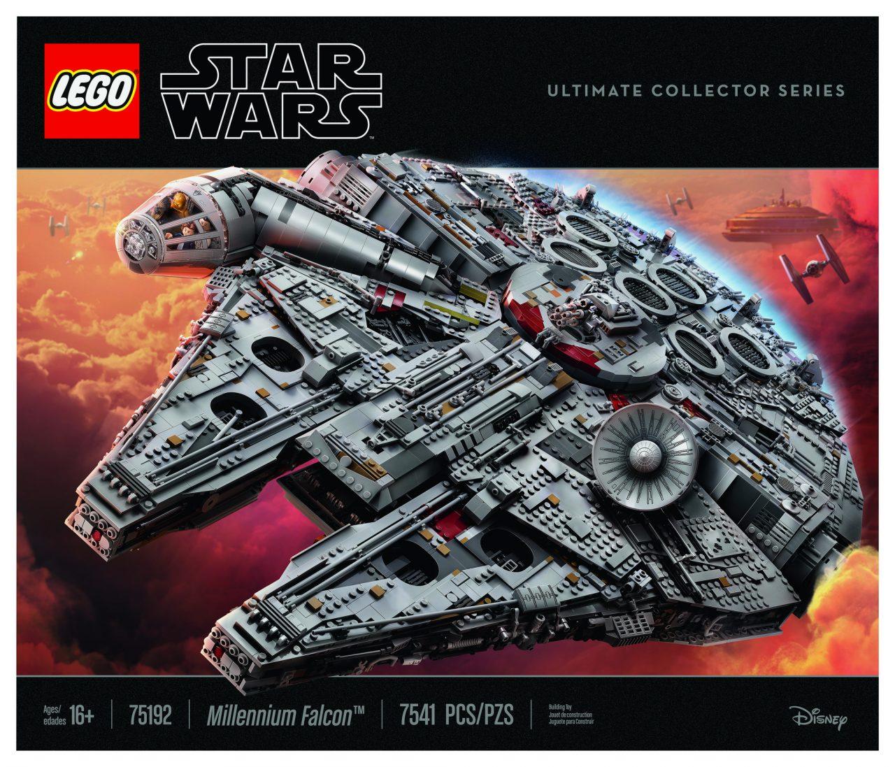 Lego® 75192 Star Wars Millenium Falcon Baukästen & Konstruktionsspielzeug LEGO Bau- & Konstruktionsspielzeug IL SOLO MANUALE ISTRUZIONI MONTAGGIO