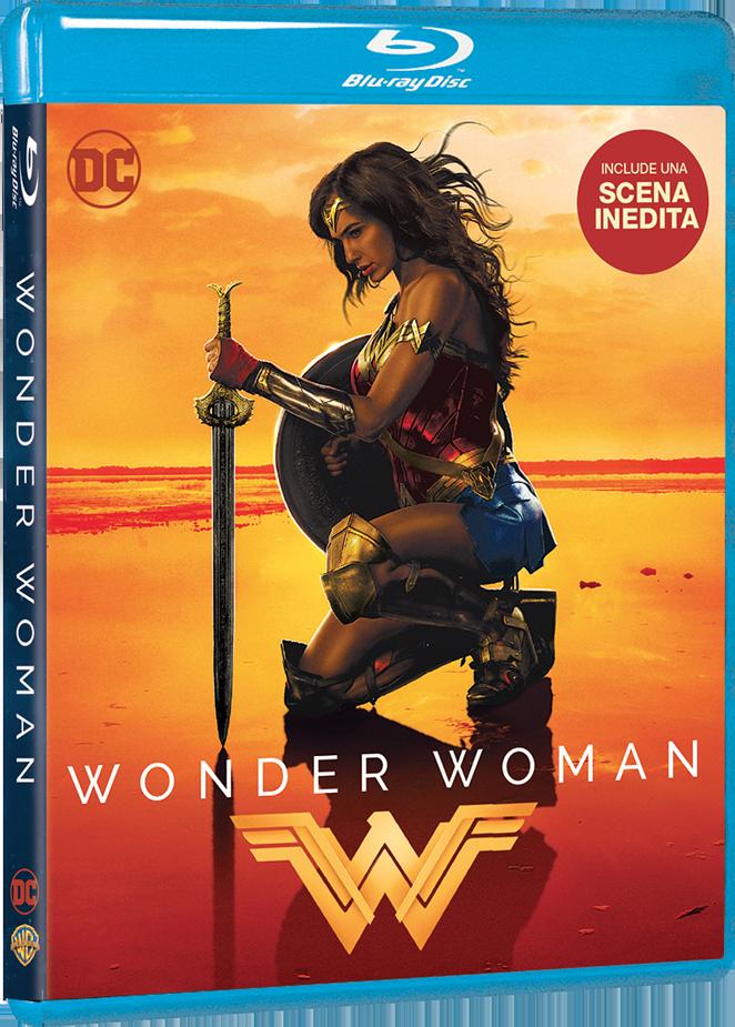 Wonder Woman DVD Blu-Ray – 1