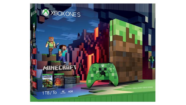 Una Xbox One S a tema Minecraft? Perché no! (foto e video)