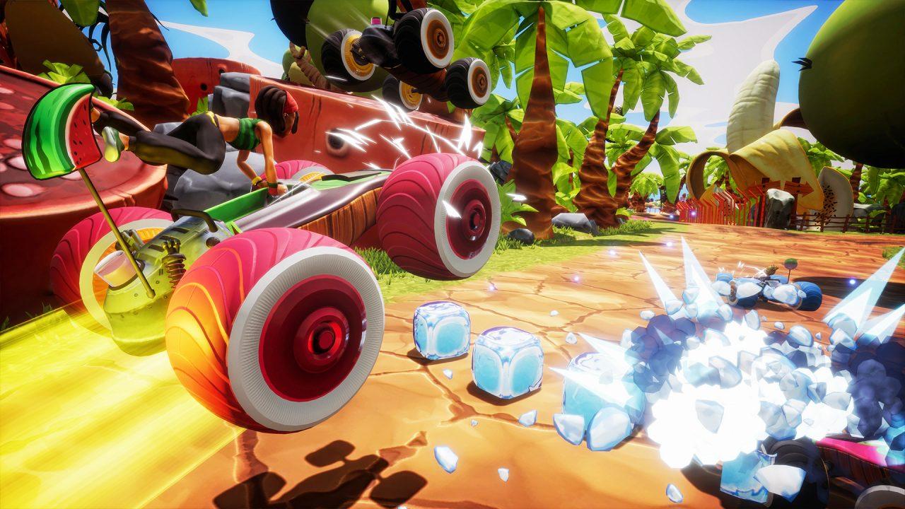 All-Star Fruit Racing: nuovo, coloratissimo gioco di corse tutto italiano disponibile da oggi su Steam! (foto e video)