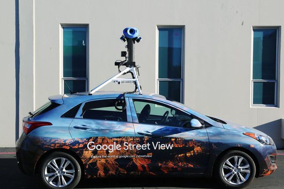 Le nuove fotocamere delle auto Street View sono meno, ma migliori