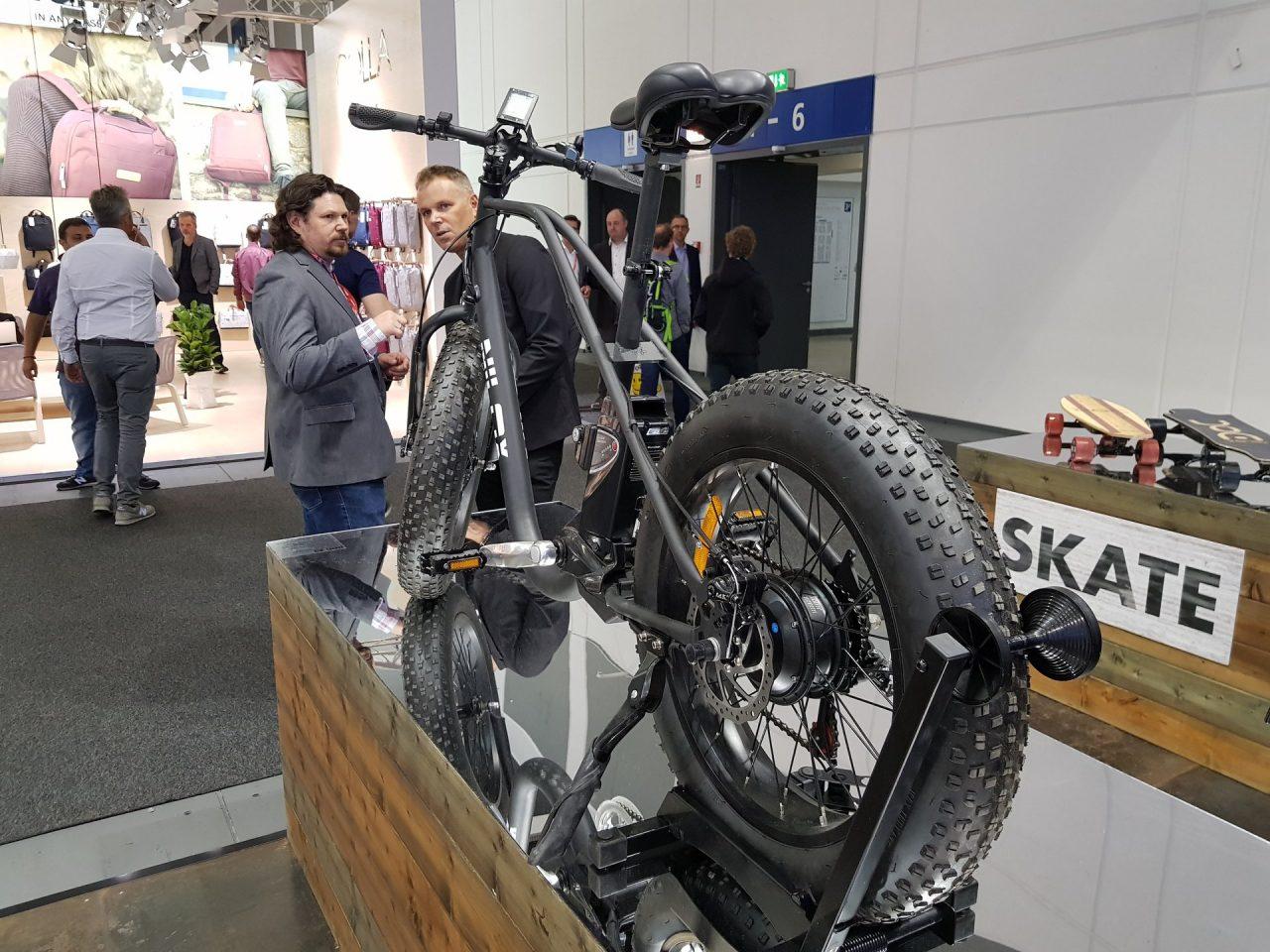 Nuovi skate e bici elettriche e tamarre da Nilox ad IFA 2017 (foto e video)