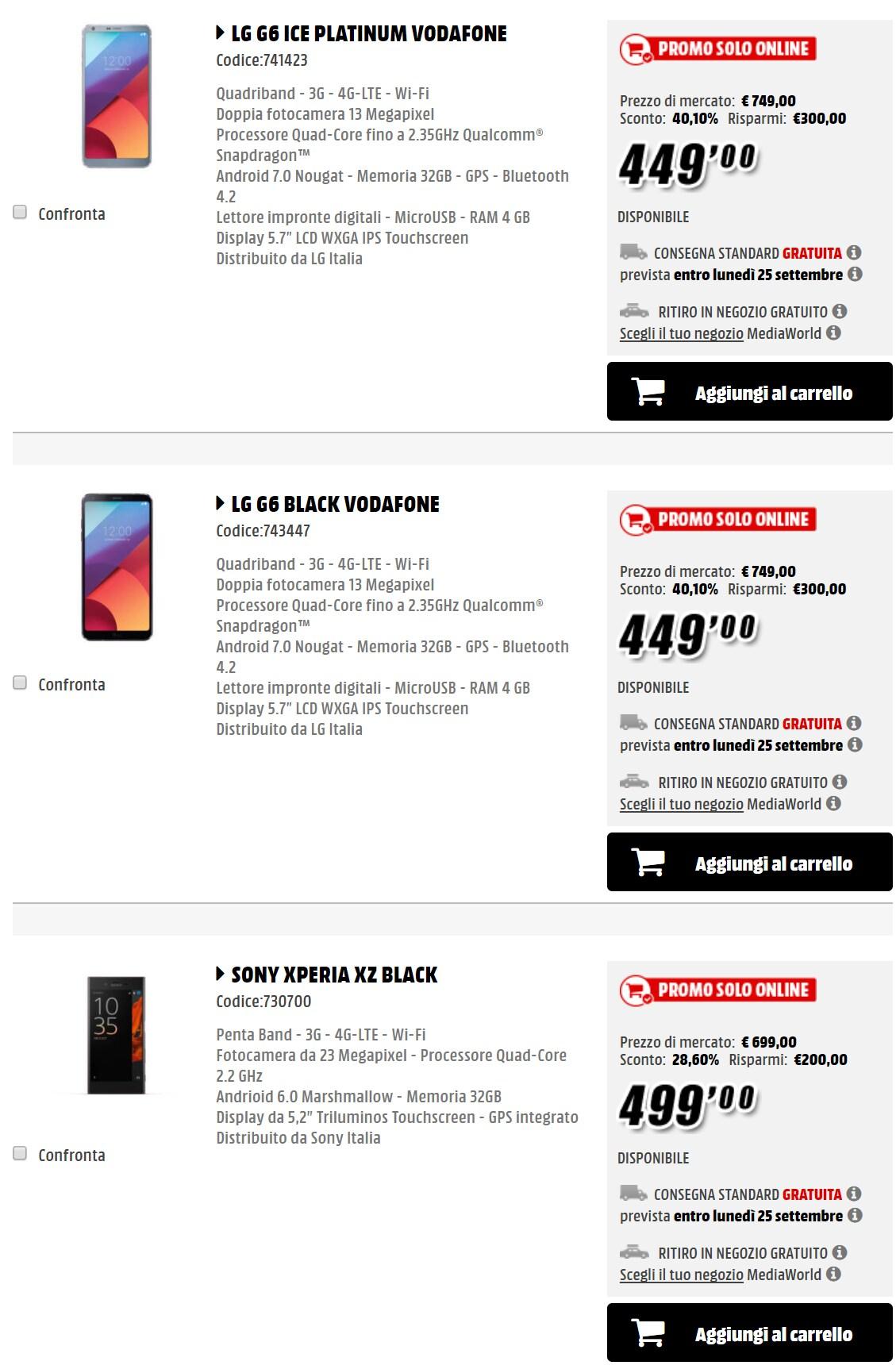 x days mediaworld fine settembre 2017_smartphone (2)
