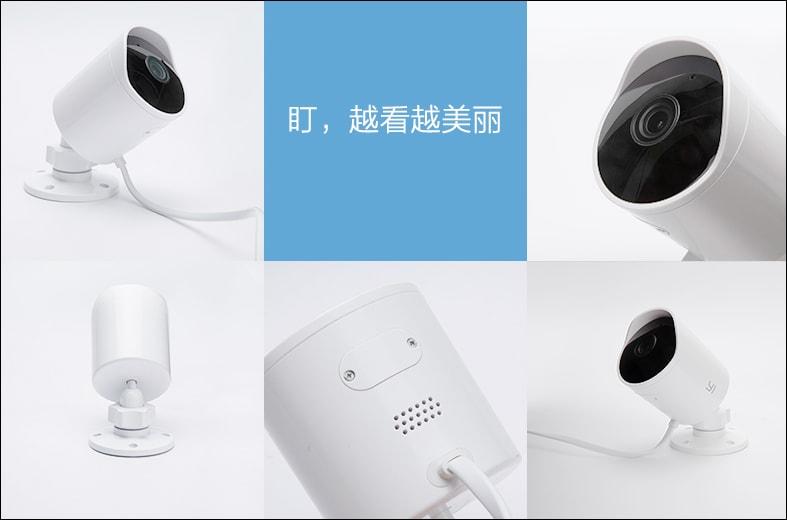 La nuova videocamera di sorveglianza per esterni di Xiaomi costa meno di 40€ (in Cina) (foto)